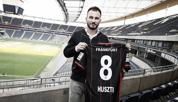 Huszti se muestra ambicioso. Foto: Eintracht