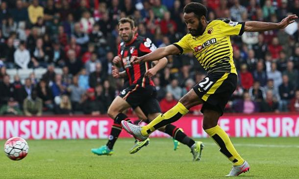 Anya in action for Watford. | Image source: The Telegraph