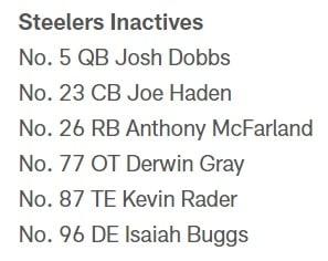 Fuente: Pittsburgh Steelers