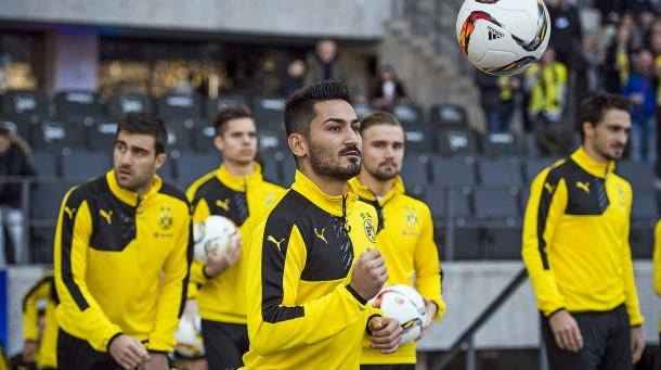 Gündoğan's absence will hit BVB and Germany hard in the coming weeks and months. | Image source: DFB.de