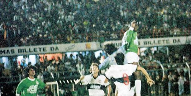 Albeiro Usuriaga puso el 2-0 que forzaba los penales. | Foto: El Tiempo