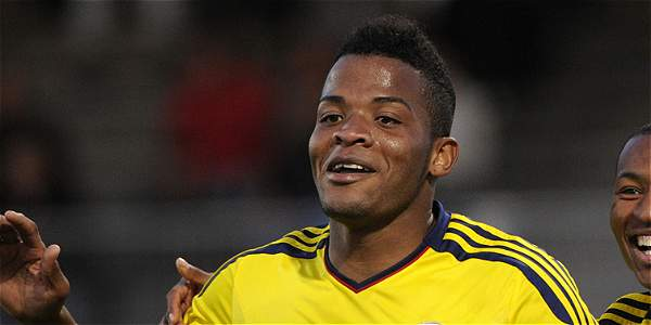 Colombia winger Andrés Rentería will need to apply endless pressure on the Americans on Friday. Photo provided by El Tiempo.