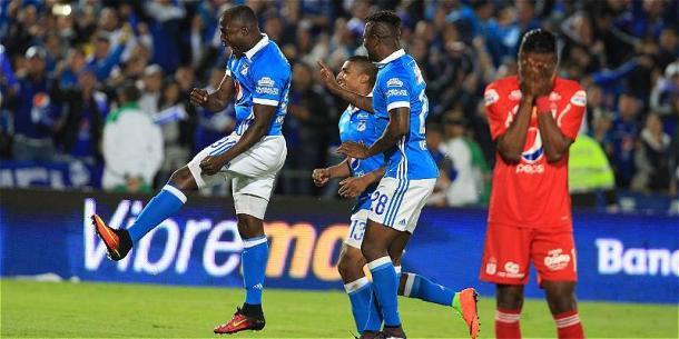 último partido disputado entre América y Millonarios - Foto: Futbolred