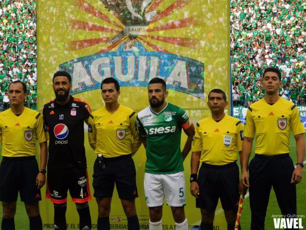 Ceremonia previa al partido Foto: Jeshimy Quiñones- VAVEL