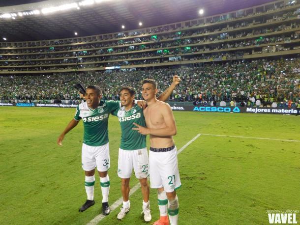 Celebración final Foto: Jeshimy Quiñones- VAVEL
