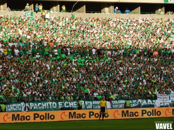 La afición 'verdiblanca' asistió en buen número a Palmaseca Foto: Jeshimy Quiñones- VAVEL