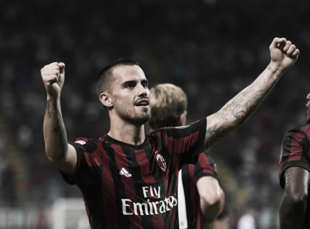 Suso desequilibrou a favor do Milan (Foto: Claudio Villa/Getty Images)