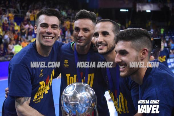 Los culés conquistaron el triplete en 2018/2019 | Foto: Noelia Déniz