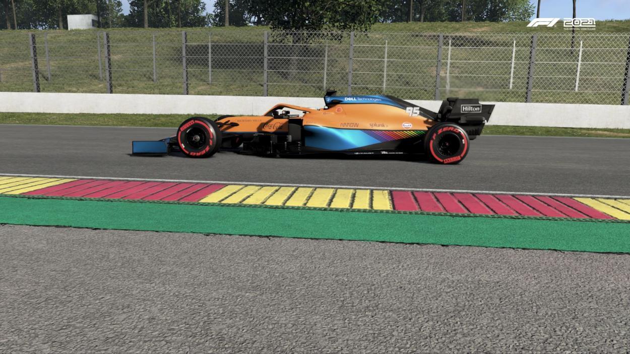 El Mclaren corto la racha de victorias al hilo para ferrari con el GP de España: Foto Fede Mileta