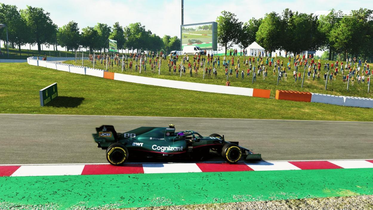 En el GP de Espana Nico impone su mejor performance con el 6º lugar: Foto Fede Mileta
