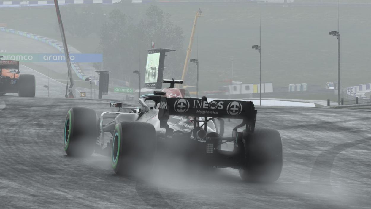 Mercedes subiendo al podio con sus dos coches: Foto Liga Panamericana