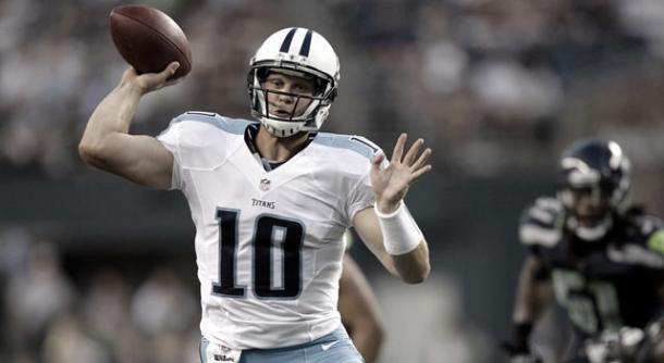 Jake Locker fue un caso atípico en la historia de la NFL // Foto: Tennessee Titans.