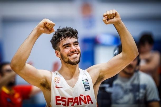 Jorge Mejías celebra la consecución del Europeo U18 de Turquía | Foto: @jorgemejias15 (Instagram)