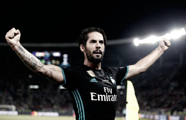 Alarcón festeja el segundo gol del Madrid | Foto: Antonio Villalba (Real Madrid C.F.)