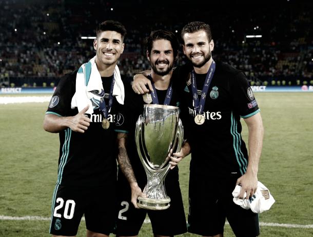 Grandes amigos, grandes campeones | Foto: Antonio Villalba (Real Madrid C.F.)