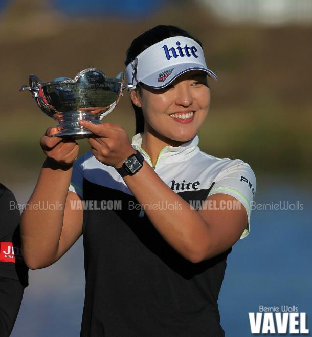 In Gee Chun wins Vare trophy for Rookie of the year