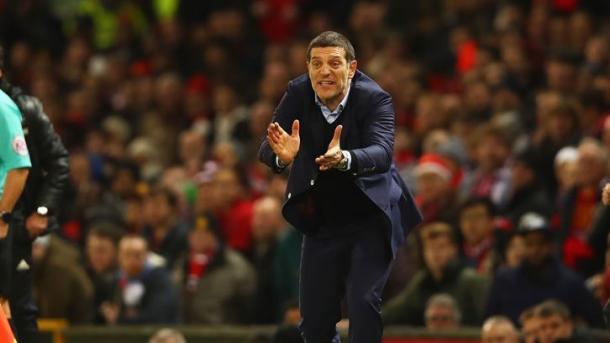 Bilic animando a los suyos. Foto:West Ham.
