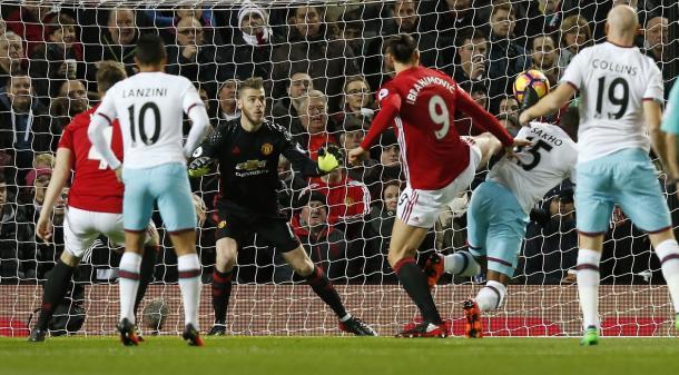 Shako anotó el gol del West Ham. Foto:West Ham.