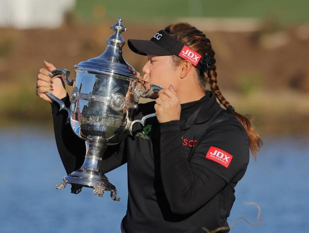 Ariya Jutanugarn wins 2016 LPGA Player of the Year