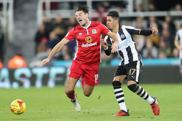El Newcastle cayó ante el Rovers en su anterior partido / Foto: The Telegraph