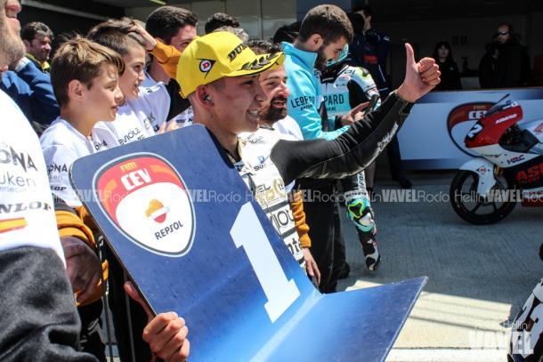 Fernández irá a la próxima cita del Mundialito como líder. Foto: Rocío Hellín   Vavel España.