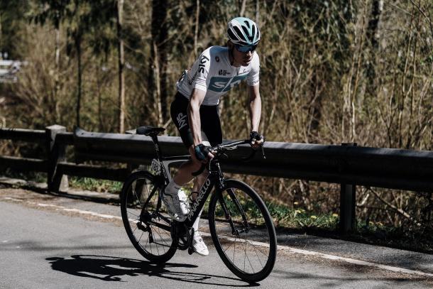 David de la Cruz en la Vuelta a Burgos | Foto: Sky