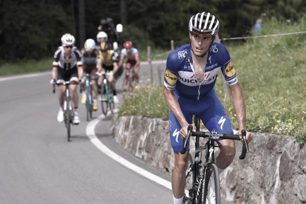 Enric Mas en la Vuelta al País Vasco | Foto: Quick-Step