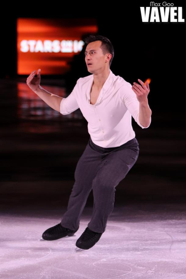 "Patrick Chan skating to Patrick Watson's ""Beautiful Mess"" at the Stars on Ice show in Toronto on May 3, 2019."