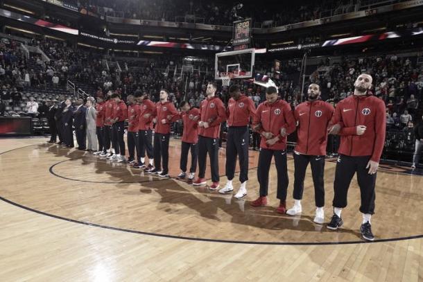Plantilla capitalina 2017/2018 | Foto: NBA