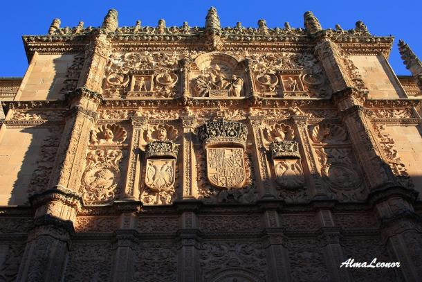 Fachada de las Escuelas Mayores de la Universidad de Salamanca (Imagen: AlmaLeonor, de Vavel)