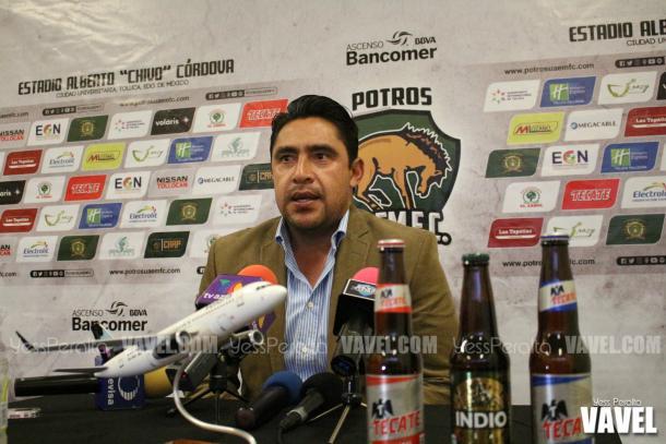 Omar Ramírez hablado post partido.