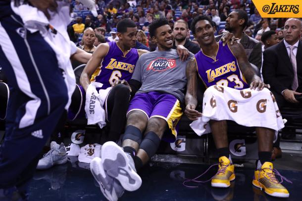 Lakers bench continue to impress. Photo: