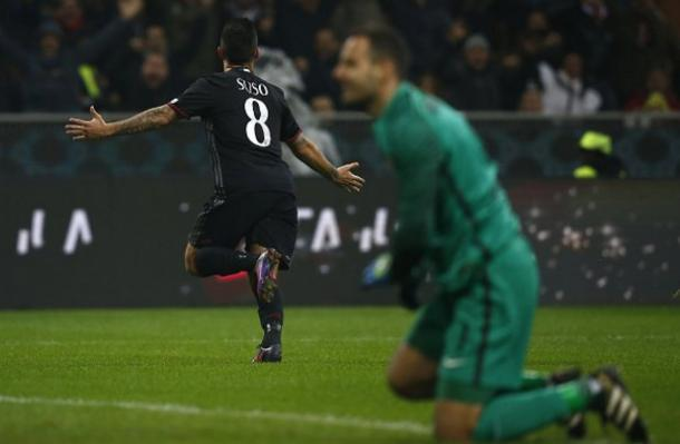 Suso celebra seu gol (Foto: Getty Images)