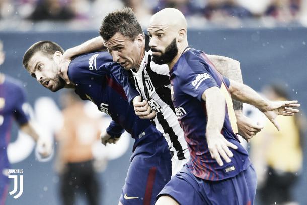 Barcelona se vengó de Juventus con un 2-1   Foto: Juventus Twitter