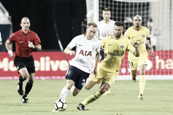 PSG fue derrotado 4-2 por el Tottenham en su último partido   Foto: @spursofficial