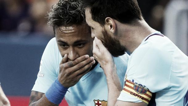 Neymar está a un paso de convertirse en jugador del PSG | Foto: Barcelona Twitter