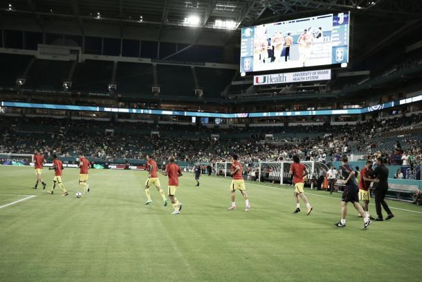 PSG ingresando al estadio antes de la derrota frente a Juventus | Foto: PSG Twitter