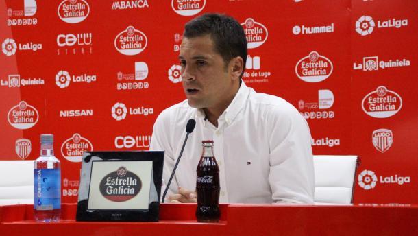 Francisco Rodríguez, después del Lugo-Reus | Imagen: CD Lugo