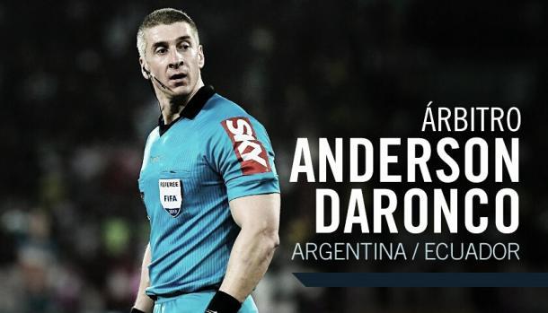 Anderson Daronco será el árbitro   Foto: AFA