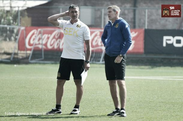 Martín Palermo puede tener su primer título como entrenador | Foto: Unión Española