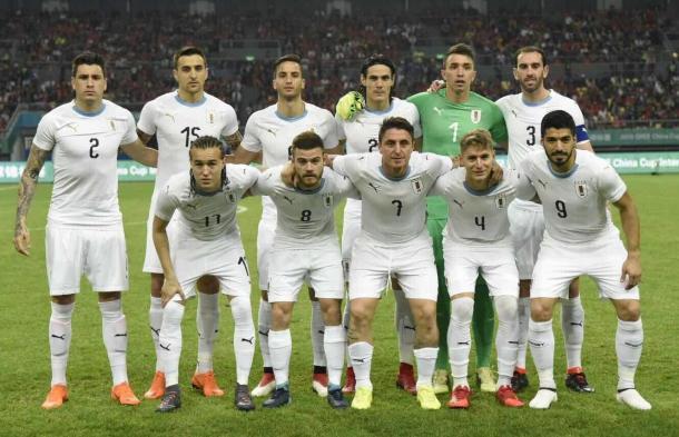 La celeste se consagró campeona de la Copa China| Foto: Asociación Uruguaya de Fútbol