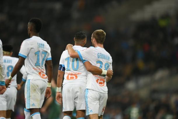 Payer y Germain lideran al equipo francés | Foto: @OM_Espanol