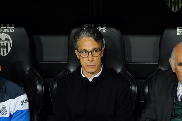 Díaz ocupó el puesto de Quique. Foto: Web del Espanyol.