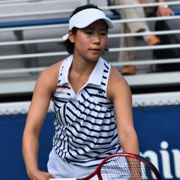 Nao Hibino was one of several former main draw players to advance on Wednesday/Photo: John Lupo/VAVEL UK