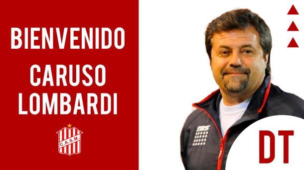 Así anunciaba la llegada del DT, el club tucumano. Foto: Club Atlético San Martín