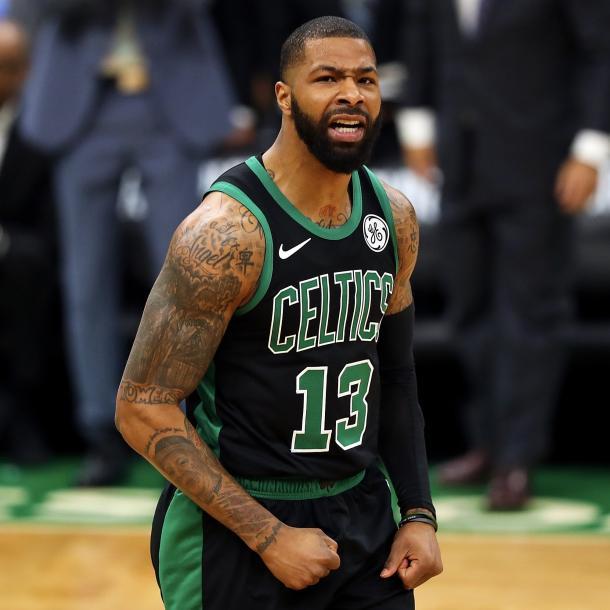 Boston sacó diferencias en el tercer cuarto. Foto: Boston Celtics