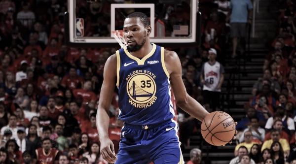 Kevin Durant es el décimo máximo anotador en Playoffs. Foto: NBA
