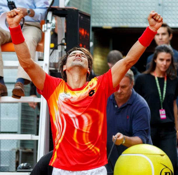 Ferrer se regala un partido más. Foto: Mutua Madrid Open