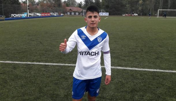 El futuro '23' de Vélez en la inferiores del club.   Fuente: Twitter.