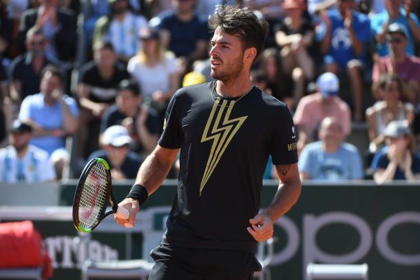 Londero sigue en un año de ensueño. Foto: Roland Garros